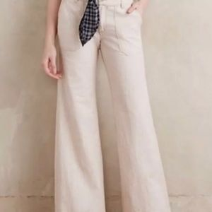 Anthro Pilcro and the Letterpress Wide Leg Pants